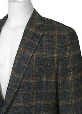 NEW Etro Sportcoat (Jacket)! 40 e 50 Heavier Weight  Blue Check  Slim Fit  ITALY