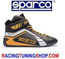SCARPE KART SPARCO SCORPION BLACK/YELLOW EU 45 KARTING BOOTS SHOES - SCHUHE KART
