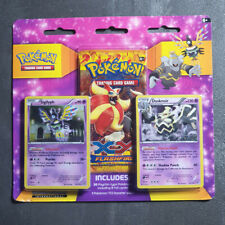 Pokemon XY Flashfire Booster/ Water Blister Solgaleo Pack Art