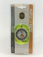 Brunton Classic Baseplate Compass 9020G National Geographic Model w/5 Free Maps