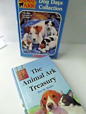 ANIMAL ARK BOOK LOT OF 2 CHILDRENS CHAPTER BOOKS hardback Free ship  SCHOLASTIC
