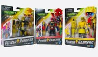 Power Rangers Beast Morphers Lot of 3 Beast Yellow Gold X-King Red