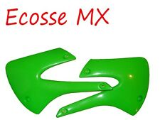 Kawasaki KX85 2001-2013 Radiator Scoops Green 3717 026