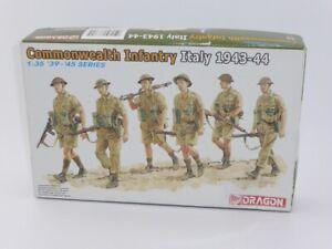 Dragon 1/35th Plastic Kit 6380 Commonwealth Infantry, Italy 1943-44 Rare