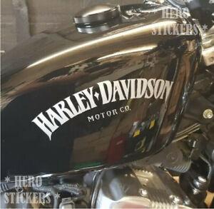 Harley Davidson sticker x2 Tank Decal vinyl, Any Colour