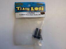 LOSI - Ti SHORT NECK BALL STUDS .380 - Model # LOSA9949