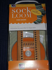 Knitting Board Sock Loom Fine Gauge with Instructions How To DVD KB4485 *