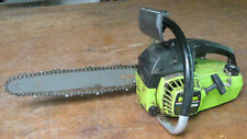 older Poulan 2000 small 12-in. gas chainsaw, as found