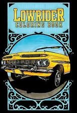 Lowrider Coloring Book, Folk Art, Crafts & Hobbies, Automotive, Teens, Oscar Nil