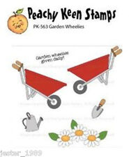 Peachy Keen Stamps  - Garden Wheelies - PK-536