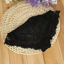 Mujer Bragas De Encaje Cordón Braguita Tanga ropa interior Calzoncillo Underwear