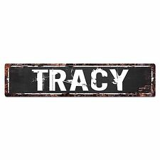 SFND0291 TRACY MAN CAVE Street Chic Sign Home man cave Decor Gift Ideas