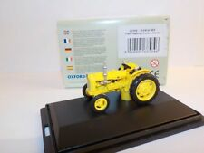 Fordson Tractor - Yellow  1:76 Oxford Diecast Model Car British