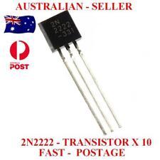 2N2222 Transistor NPN - 600mA x 10Pcs