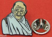 Mahatma Gandhi Lapel Tie Pin Badge Brooch Bapu India Indian Civil Rights Hindu