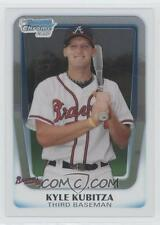 (15) 2011 11 Bowman Chrome Draft Kyle Kubitza Rookie Card Lot Los Angeles Angels