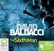 David BALDACCI / The SIXTH MAN             [ Audiobook ]