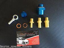 Kit raccordi 8mm 12mm 15mm Pompa Benzina Esterna come Bosch 044 Motorsport