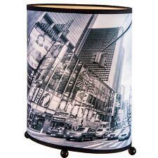 Nino Tischleuchte City - 24 cm hoch 20 cm breit Lampe Deko Leuchte E14