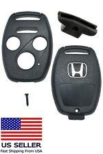 Honda Accord Keyless Car Remote Key Fob Uncut Shell Case 2008 - 2012 DIY CASE