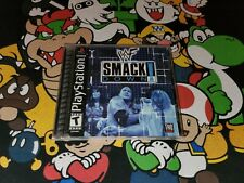 WWF SmackDown! (Sony PlayStation 1 PS1) *COMPLETE - TESTED & GUARANTEED*