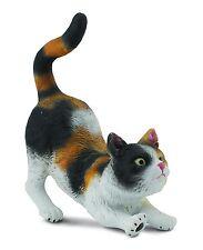 Hauskatze 3-farbig gestreckt 6 cm Hunde und Katzen Collecta 88491