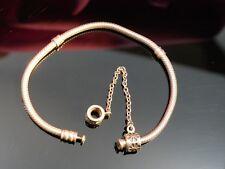 Pandora 925 Silber Armband ALE Verschluss Defekt Für Bastler Schlangen Kette Top