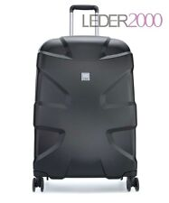 NEU Titan Reise Koffer X2 360°four Shark Skin 4 Rollen Trolley 71 cm M+ Schwarz