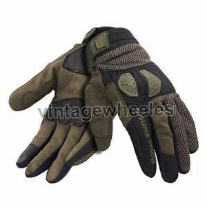 Royal Enfield Trailblazer Gloves Moss Green