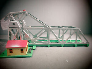 Lionel Postwar Original 313 Bascule Bridge WORKING CONDITION.