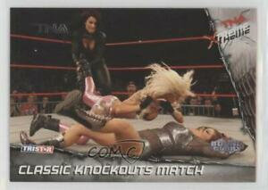 2010 TRISTAR TNA Xtreme Silver /40 Classic Knockouts Match #54
