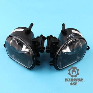 New L & R Front Bumper Halogen Fog Lights Fog Lamps Fit For AUDI Q7 2010-2015