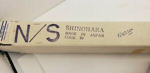 RARE NOS 10 Pieces SHINOHARA Code 70 Model HO N/S Track in Orig Shinohara Box