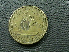 BRITISH  CARIBBEAN  TERRITORIES  5 Cents 1965  $ 2.99 maximum shipping in USA