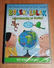 Bolek i Lolek wyruszaja w swiat (DVD) Region ALL - Polish, Polski, Polen