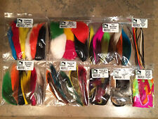 7 HARELINE COMBOS - bucktail calftail biots squirrel deerbelly zonkers fly tying