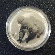 Australia 50 cents Koala 2010 silver 99.9% 1/2 oz in capsule