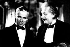 """Charley Charlie Chaplin 4""""X6"""" Albert Einstein photo 4""""X6"""" picture history j"""