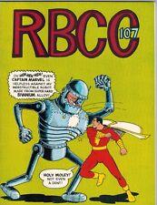 Rockets Blast Comic Collector 107   Shazam/Captain Marvel Cover 1974 F/VF