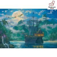 New Disney 1000 Piece Jigsaw Puzzle  Moonrise Over Pirate Cove F/S from Japan