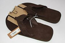Sonoma Brown Flip Flops Sandals Men's M NEW NWT Size 8-9