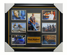 Movie Memorabilia - Paul Walker - The Fast and Furious - Framed Ready to Hang