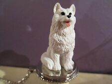 SAMOYED  DOG   WINE STOPPER