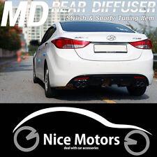 Rear Dual Diffuser Cover 1Set (B) For Hyundai Elantra 2011 2012 2013