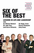 Six of the Best (CBM), New, John Tusa, Edward Peppitt, Karan Bilmoria, Andy Gree