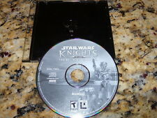 Star Wars Knights Of The Old Republic Replacement Disk # 2 (PC) Game (Mint)