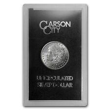 1880-CC Morgan Silver Dollar Coin - Brilliant Uncirculated -GSA Case - SKU #8591