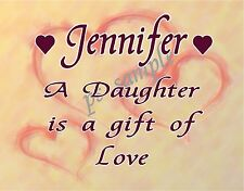 DAUGHTER - Personalized Fridge Magnet