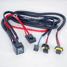 Car HID Xenon Light H7/H7R Bulbs Relay Fuse Cable Wire Wiring Harness Vehicle
