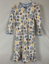 Saras Prints Girls Pajama Dress Hanukkah Menorah Dradel Print Size 10